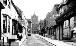 Lion Street 1903, Rye