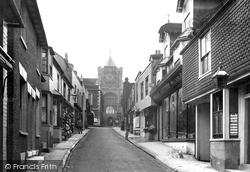 Lion Street 1912, Rye