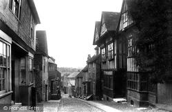 Mermaid Street 1901, Rye