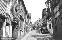 Mermaid Street c.1955, Rye
