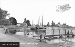 Rye, River Rother c.1965