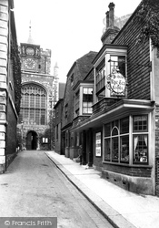 St Mary's Church And Tea Rooms 1912, Rye