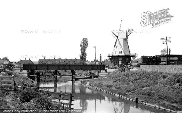 ,Rye, the Windmill c1955, East Sussex,