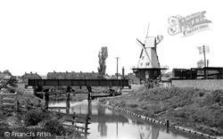 The Windmill c.1955, Rye