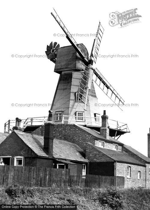 Rye,the Windmill c1955,Sussex