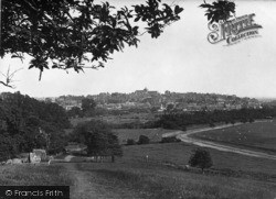 Rye, View From Leasam Hill 1925