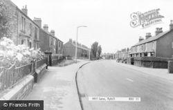 Mill Lane c.1960, Ryhill