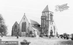 Ryhope, St Paul's Church c.1960