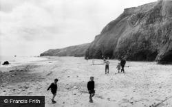 Ryhope, The Beach c.1960