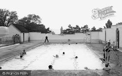 Ryton, Ferndene Park Swimming Pool c.1960