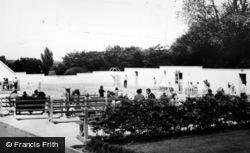 Ryton, Swimming Pool c.1960