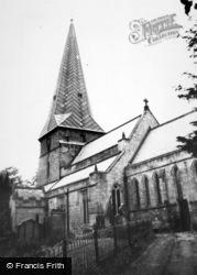 Ryton, The Church c.1960