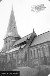 Ryton, The Church Of The Holy Cross c.1960