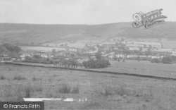 Sabden, From Pendle Hill c.1965