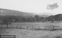 Sabden, The Valley From Pendle c.1960