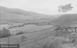 Sabden, The View From Black Hill c.1955