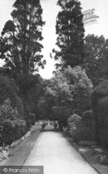 Saffron Walden, Bridge End Gardens 1937