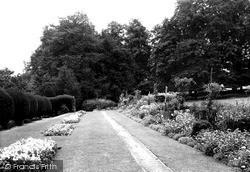 Saffron Walden, Bridge End Gardens c.1950