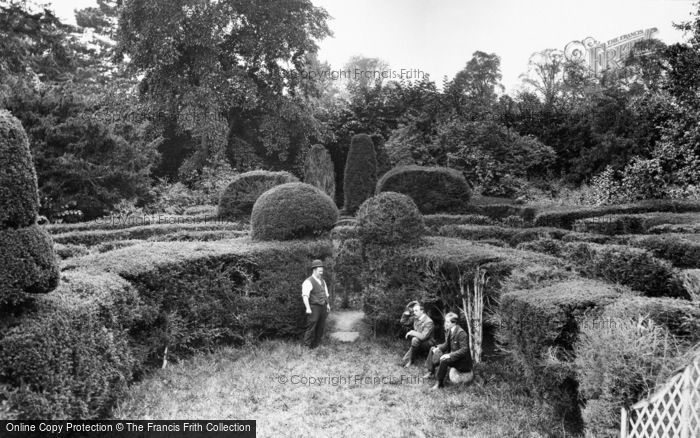 Photo of Saffron Walden, Bridge End Gardens, Fry's Garden 1907