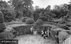 Saffron Walden, Bridge End Gardens, Fry's Garden 1907