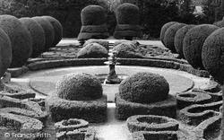 Saffron Walden, Bridge End Gardens, The Dutch Garden c.1950