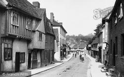 Saffron Walden, Bridge Street 1907