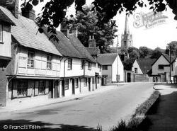 Saffron Walden, Bridge Street c.1955