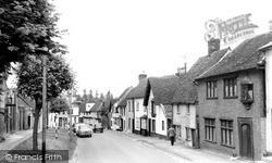 Saffron Walden, Castle Street c.1960
