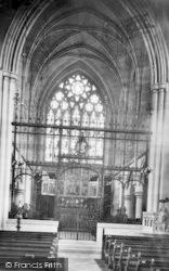 Saffron Walden, Church Interior 1912