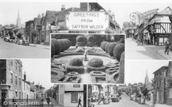 Saffron Walden, Composite c.1950