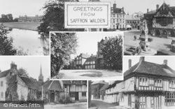 Saffron Walden, Composite c.1955