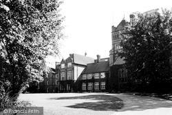 Saffron Walden, Friends School c.1950