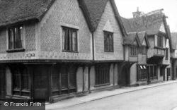 Gold Street 1950, Saffron Walden