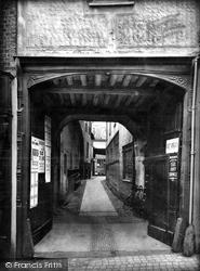 Saffron Walden, Hart's Yard 1919