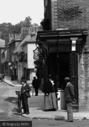 Saffron Walden, High Street 1907