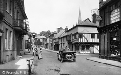 Saffron Walden, High Street 1919