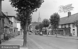 Saffron Walden, High Street 1937