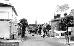 Saffron Walden, High Street And Church c.1965