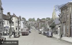 Saffron Walden, High Street c.1950