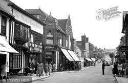 Saffron Walden, High Street c.1955