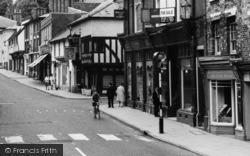 Saffron Walden, High Street c.1965