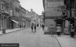 Saffron Walden, Hoops Hotel, King Street 1919