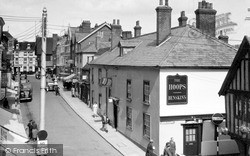 Saffron Walden, King Street c.1955