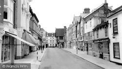 Saffron Walden, King Street c.1960