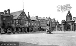 Saffron Walden, Market Place 1907
