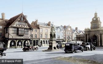 Saffron Walden, Market Place 1932