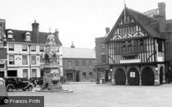 Market Place 1950, Saffron Walden
