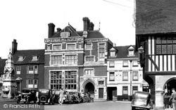 Saffron Walden, Market Place c.1950