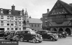 Market Place c.1955, Saffron Walden