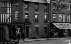 Saffron Walden, Market Place, Hair Dresser And Draper 1907